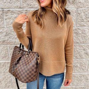 {Everlane} The Cashmere Square Turtleneck Sweater